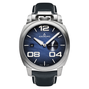 Anonimo Militare Automatic Stainless Steel Case Blue Scratched Dial Watch product image