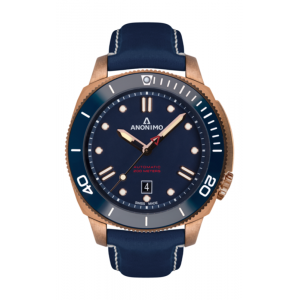 Anonimo Nautilo Automatic Bronze Blue Dial Watch product image