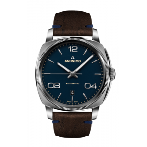 Anonimo Militare Chrono Stainless Steel Case Blue Scratched Dial Watch product image