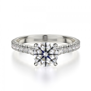 Round Cut With Diamonds On Shank SJ-R1010-1 product image