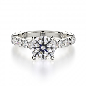 Round Cut With Diamonds On Shank SJ-R1028-1 product image